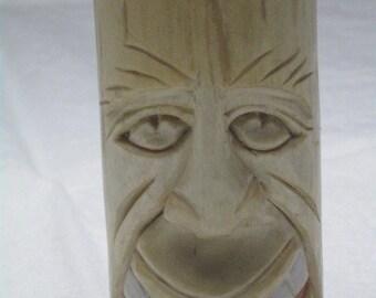 Carved aspen dowel