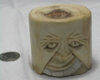 Carved from aspen dowel