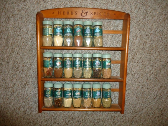 Vintage Spice Rack Mccormick Herbs Amp Spices By