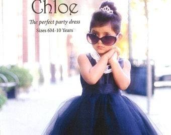 Pattern Chloe- The Perfect Party Dress Paper Sewing Pattern by Violette Field Threads