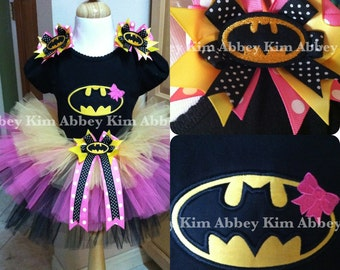 Batgirl tutu set black