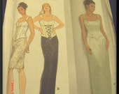 Vintage Out Of Print Simplicity Jessica McClintock Sewing Pattern 7637