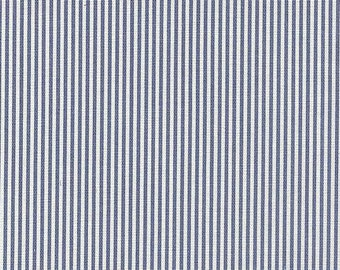 Oxford Sailor cotton fabric by the yard stripe Magnolia Home Fashions