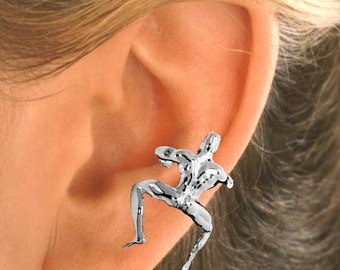 Gunther - Our Man Ear Cuff in Sterling Silver or Gold Vermeil  #86-
