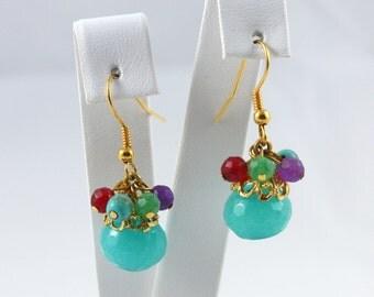 ON SALE Gemstone Earrings - Gift Idea - Ready to Ship