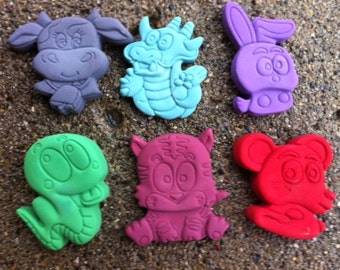Cute Animal Crayons