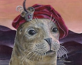 Lord of the Isles Renaissance Scottish seal portrait fine art print