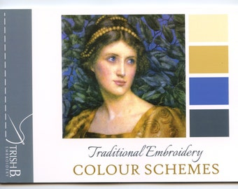 Booklet Traditional Embroidery Colour Schemes