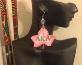 Alpha Kappa Alpha Sorority Inc, AKA Ivy leaf