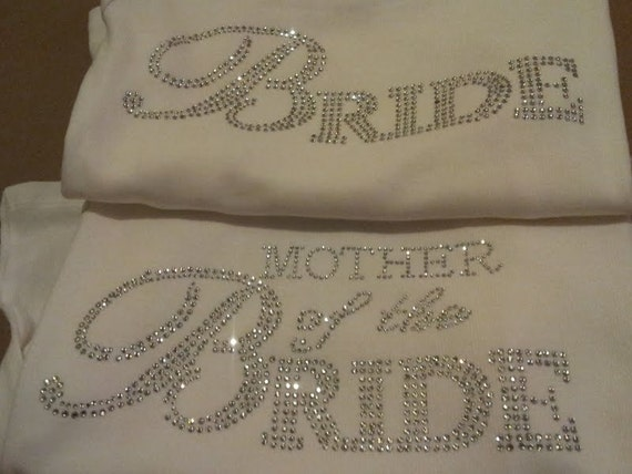 Bride Mother Of The Bride Tank Top Set Bridal By
