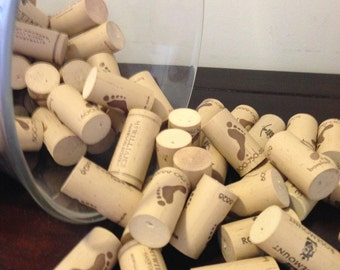 Assorted Lot of 10 Salvaged Synthetic Corks - Vase Filler, Wine Party Decor, Wedding Decoration, Cork Craft Supply