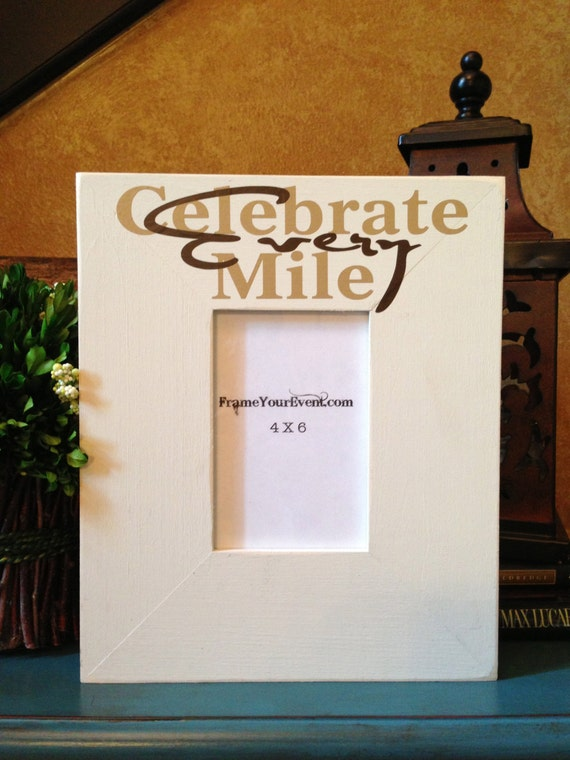 Running Frame - Celebrate Every Mile Picture Frame