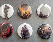 Gears of War Buttons