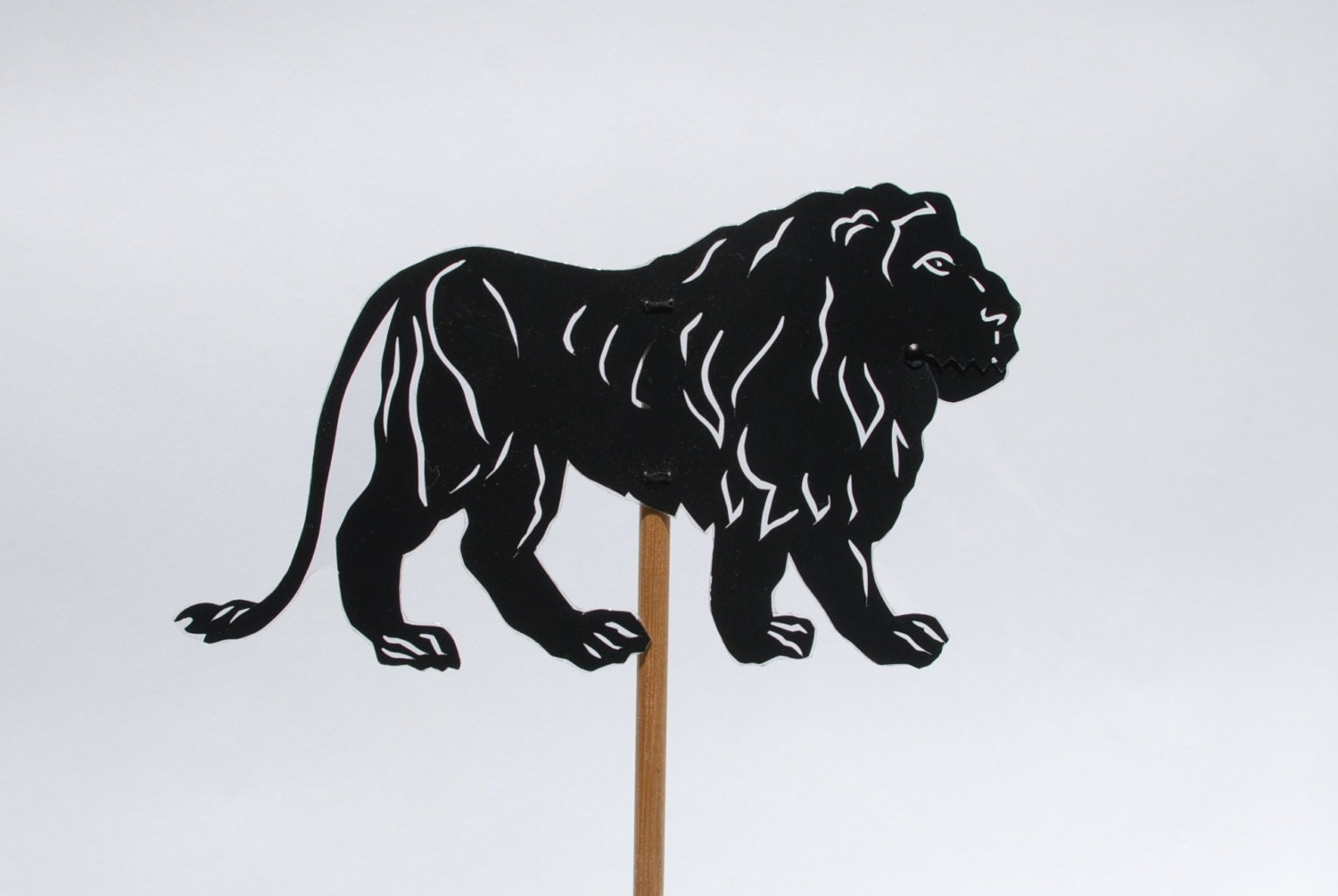 Elephant Hand Shadow Puppet Lion Shadow Puppet Hand Cut