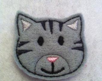 Tiger Kitten Felt Embroidery Design Feltie