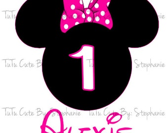 Customized Minnie Mouse Invitations was nice invitation example