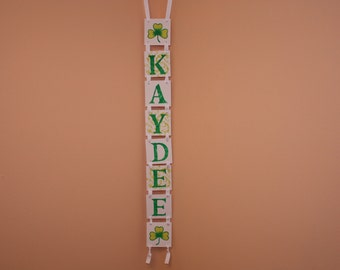 St Patricks Day Banner - KAYDEE - Photo Prop Happy -St Patricks Day