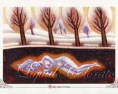 Mother Nature's Dream/Fairy/ Nature Goddess/Spiritual/Healing art/Art Print