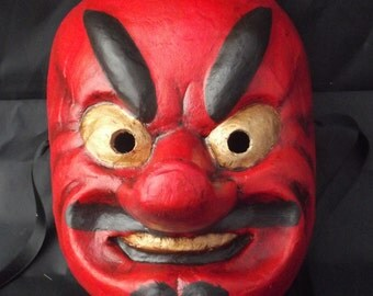 tengu mask japanese tradicional