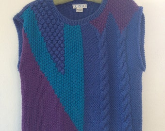1980s Knitted Vest
