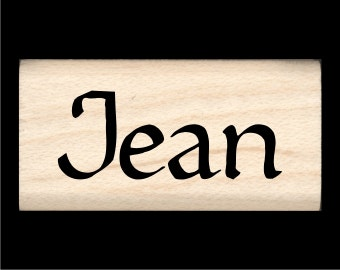 Name Stamp - Jean