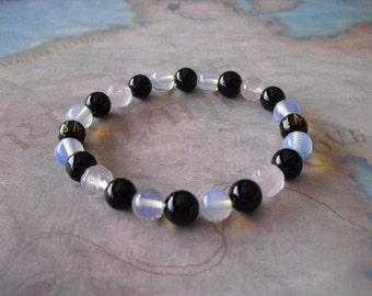 Moonstone (emotional balance) bracelet