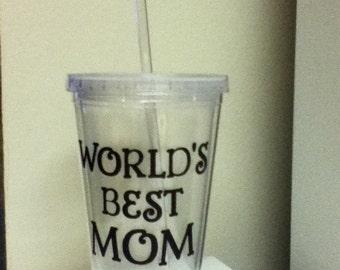 World's Best Mom Tumbler