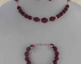 Ju'Shon / Necklace Set Tawny
