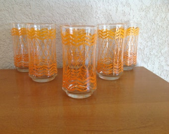 Libbey Glasses. Set of 6.