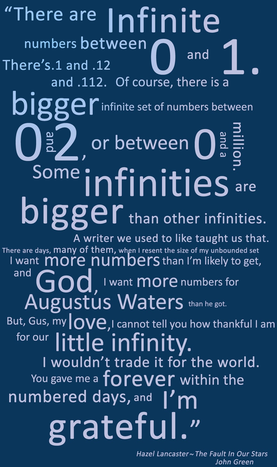 The Fault In Our Stars Hazel Quotes. QuotesGram