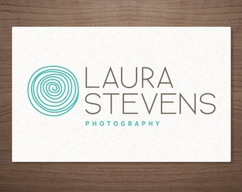 Premade Logo Design - Photography Boutique Wedding Small Business