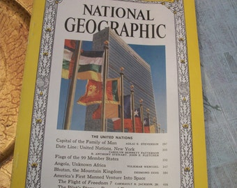 National Geographic Magazine September 1961 Vol. 120 No. 3