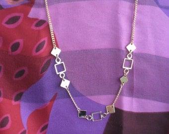 Vintage Park Lane Geometric Necklace