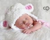 Lamb Hat For Newborn