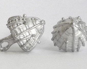 Replica Tudor Pewter Thread Cone Buttons for Renaissance/Elizabethan Reenactment - Large
