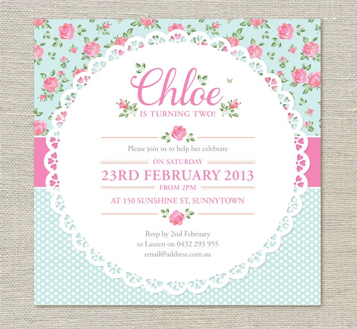 21St Invites Templates is adorable invitations sample