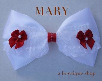 mary hair bow