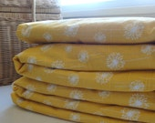 Waterproof Picnic Blanket-Yellow Dandelion-Extra Large - ModernCabin