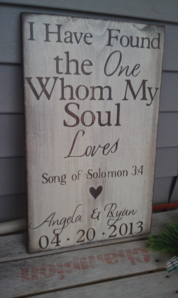 Personalized Engagement Gift I Have Found The Whom By