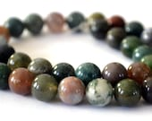 India Natural Agate Beads 8mm 23 Bead
