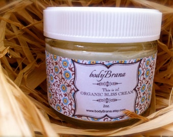 Organic Face Cream-Sensitive, Normal, or dull complexion