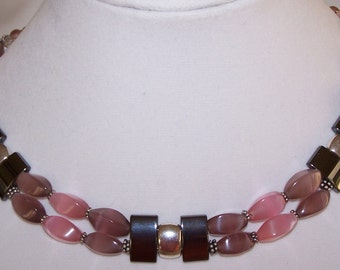 Pink brilliance Necklace