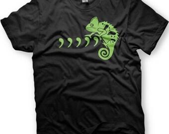 Comma, Comma, Comma, Comma, Comma Chameleon. Funny Tshirt