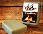 Bonfire type Scented Soap 3 oz. Bar