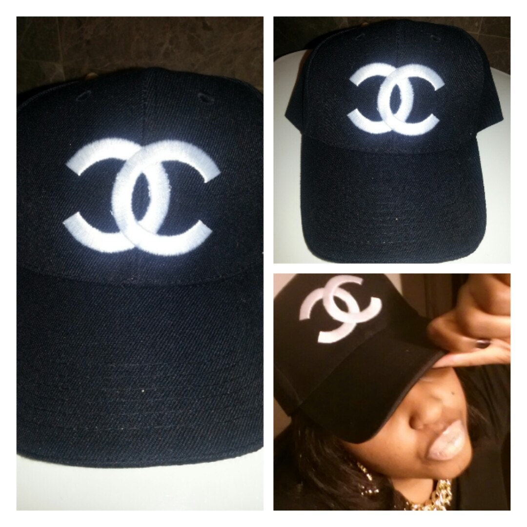 Chanel inspired SnapBack Baseball Cap 92073a40845
