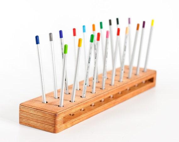 Pencil Holder Wooden Pen Holder Pen Storage Eco Friendly Men