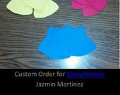 Custom Order for Jazmin M