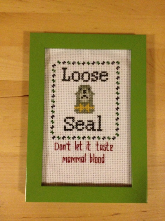 Loose Seal by StringsandNeedles