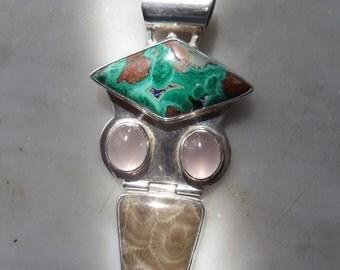 Southwestern Turquoise pendant