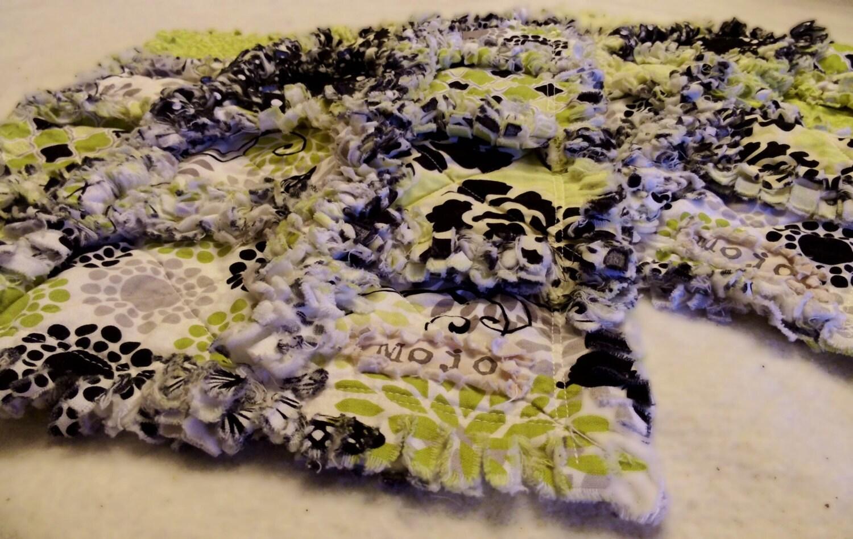 Unique Rag Quilt Patterns Burp Cloth Unique Rag Quilt